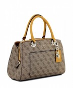 Geanta GUESS Kathryn Girlfriend Satchel Brown