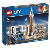 LEGO City Space Port, Racheta pentru spatiul indepartat si centrul de comanda al lansarii, 60228, 7+