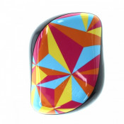 Perie pentru par Tangle Teezer Compact Styler Smooth & Shine Prism Abstract