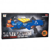 Pistol jucarie Blaze Storm cu 20 bile de spuma