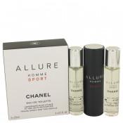 Set Apa de toaleta Chanel Allure Homme Sport
