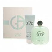 Set Cadou Giorgio Armani Acqua di Gioia, Femei, Apa de parfum + Lotiune de corp