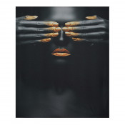 Tablou LED canvas Cover up cu leduri lumini 85 x 64 cm
