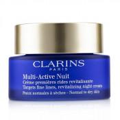 Crema de noapte pentru ten normal si uscat Clarins Multi Active Night Cream