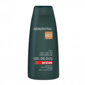 Gel de dus 3 în 1 Active Gerovital H3 Men