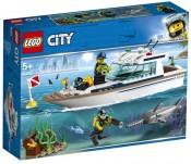 LEGO City, Iaht pentru scufundari, 60221, 5+ ani