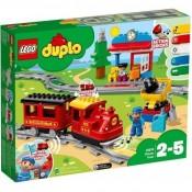 LEGO DUPLO Tren cu aburi, 10874, 2-5 ani