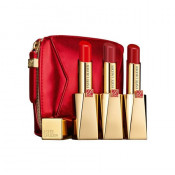 NEW Set Estee Lauder Pure Color Desire Lipstick Trio Set (3x Lipstick) +1bag