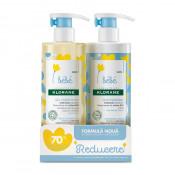 Pachet Lapte loțiune hidratantă 500ml+70% Reducere Gel spumant curățare delicată 500 ml, Klorane Bebe
