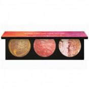 Paleta farduri Smashbox Cosmic Celebration Planetary Cheek Palette