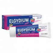Pasta de dinti pentru copii cu aroma de fructe de padure, 2-6 ani, Elgydium Kids