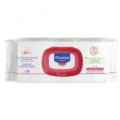 Servetele umede Mustela pentru piele sensibila, 70 buc