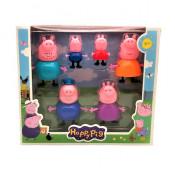 Set 6 figurine Peppa Pig