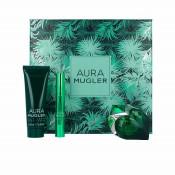 Set cadou Thierry Mugler Aura Apa de parfum + Lotiune de corp + Stick