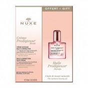 Set Nuxe Creme Prodigueuse Boost, Crema pentru fata pentru piele uscata 40 ml, Ser anti-imbatranire 10 ml