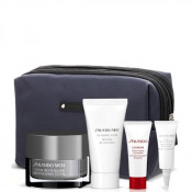Set Shiseido Men Gel hidratant 75 ml + Spuma curatare 125 ml