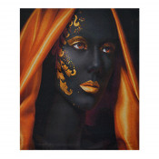 Tablou LED canvas Golden Style cu leduri lumini 45 x 35 cm