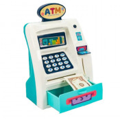 Jucarie interactiva ATM bancomat cu functii reale si sunete