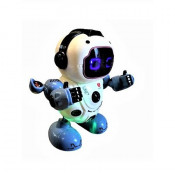 Robot interactiv dansator cu muzica si luminite