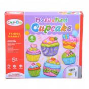 Set Pictat Si Creat Magneti - Cupcakes