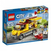 LEGO CITY, Furgoneta de pizza 60150, 5-12 ani