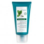 Balsam protector cu extract de mentă acvatică pentru păr expus la poluare, Klorane