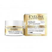 Eveline Cosmetics Crema de fata Gold Lift Expert 50+