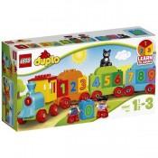 LEGO DUPLO Trenul cu numere, 10847, 1-3 ani