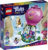 LEGO Trolls World Tour - Aventura lui Poppy cu balonul cu aer cald 41252