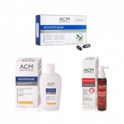 Pachet ACM, Șampon, Loțiune și Capsule Novophane