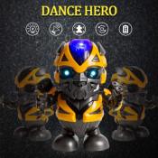 Robot flexibil, Bumblebee Dance Hero, cu functii sonore si luminoase