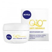 Set Nivea Q10 Plus crema anti-rid de zi SPF 15