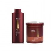 Set pentru revitalizare Londa Professional Velvet cu 1000 ml Sampon + 750 ml Masca