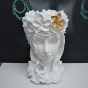 Vaza Venus Flower Lady, white