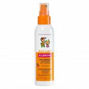 Spray pentru descurcarea părului cu aromă de piersică, Klorane Junior