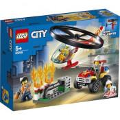 LEGO City Fire - Interventie cu elicopterul de pompieri 60248