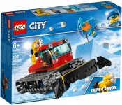 LEGO City, Great Vehicles - Compactor de zapada, 60222, 6+