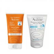 Pachet Avene Lotiune fara parfum Protect Intense SPF 50+ Avene 150 ml + Gel dupa plaja Avene Apres-Soleil 50 ml
