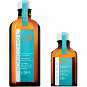 Pachet Tratament Light 100 ml + Tratament Light 25 ml, Moroccanoil