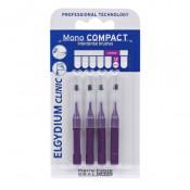 Periute interdentare Mono Compact Purple, 4 bucati, Elgydium
