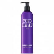 Sampon Tigi Bed Head Dumb Blonde Purple Toning pentru par blond