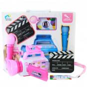 Set Camera Si Microfon Pentru Copii