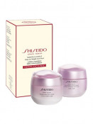 Set White Lucent Shiseido Crema pentru luminozitate + Crema & masca pentru noapte, 2x 75 ml