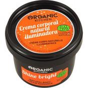 Crema naturala radianta cu ulei de Catina si samburi de Caise, Organic Kitchen