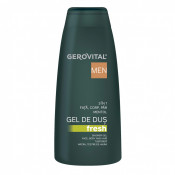 Gel de dus Fresh 3 in 1 Gerovital Men