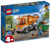 LEGO City: Camion pentru gunoi 60220, 4 ani+, 90 piese