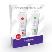 Pachet Crema hidratanta pentru maini + Gel pentru igienizarea mainilor Ivatherm
