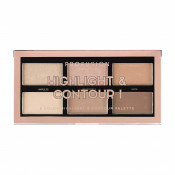 Paleta Profusion Mini Artistry Highlight & Contour Light Medium