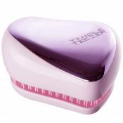 Perie pentru par Tangle Teezer Compact Styler Smooth & Shine Lilac Gleam