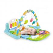 Saltea de joaca muzicala interactiva Baby Piano 5 in 1, Fetite si Baieti Centru de activitati pentru bebelusi